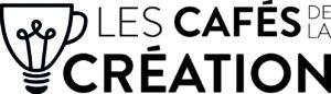 Logo cafés de la création