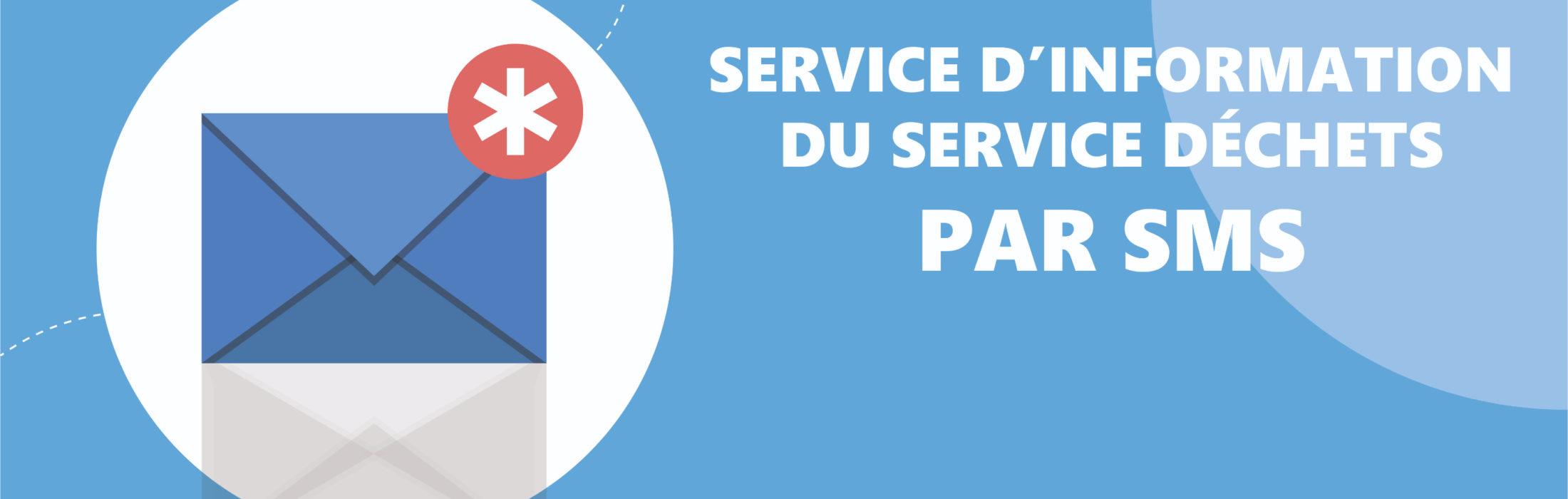 Recevez des informations liées au service de gestion des déchets sur votre mobile