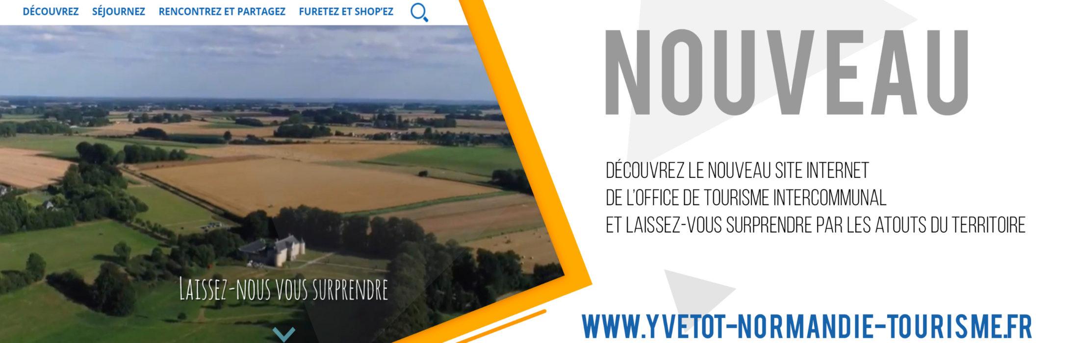 Un nouveau site web pour l'Office de Tourisme ntercommunal