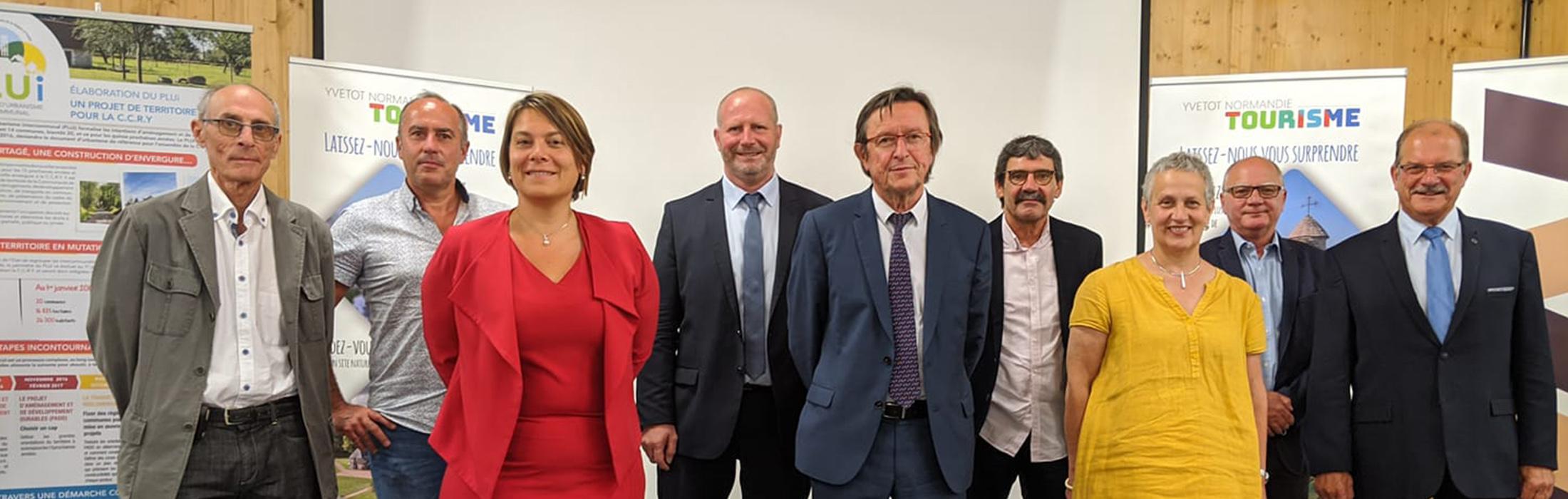 Nouvel exécutif I Communauté de Communes Yvetot Normandie