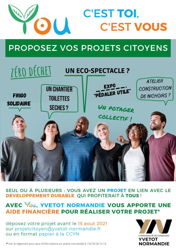 YOU - nouveau dispositif d'appel à projets citoyens